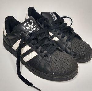 Adidas 4.5 Black White Stripe Classic Sneakers